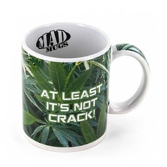 "Taza ""At Least It,s Not Crack"" (Al Menos No Es Crack)"