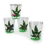 Cannabuds Shot Glasses (4 piezas)