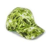 Gorra de Béisbol con Estampado de Cannabis
