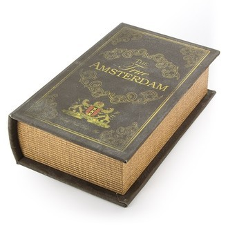 Escondite Libro Amsterdam