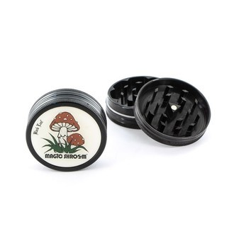 Grinder Metálico Magic Shroom (2 partes)
