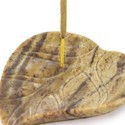 Incense Holder Soapstone Leaf