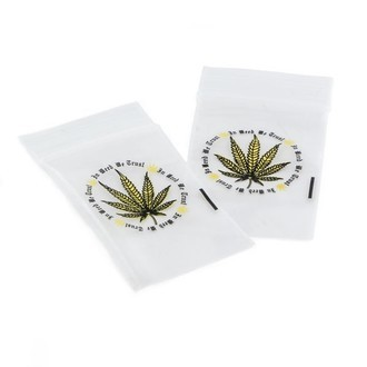 Bolsas Herméticas 'In Weed We Trust'