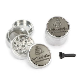 Grinder de Metal Zamnesia Polinizador 3D EDICIÓN LIMITADA
