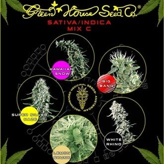 Sativa/Indica Mix C (Greenhouse Seeds) feminizada