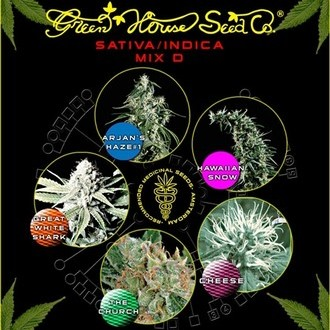 Sativa/Indica Mix D (Greenhouse Seeds) feminizada
