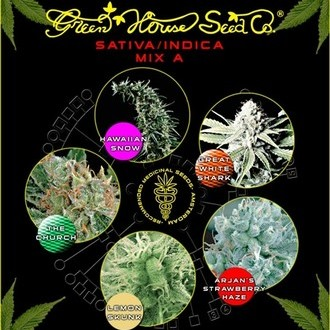 Sativa/Indica Mix A (Greenhouse Seeds) feminizada