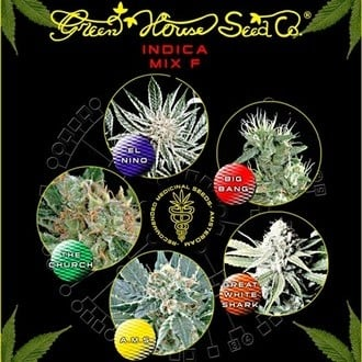 Indica Mix F (Greenhouse Seeds) feminizada