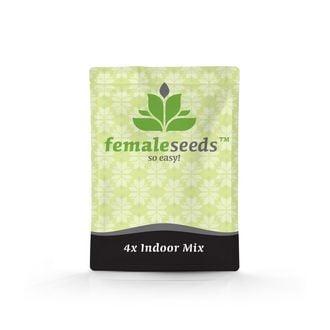 Indoor Mix (Female Seeds) feminizada