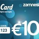 Tarjeta Regalo Zamnesia - 100 euros