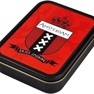 Caja Metálica Amsterdam
