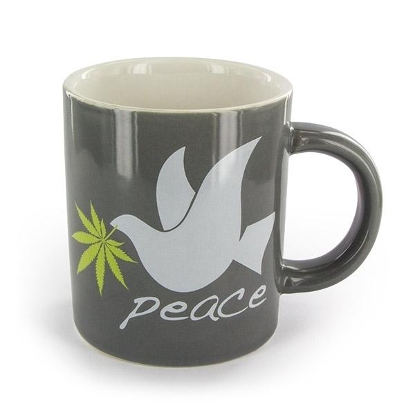 taza de caf con dise o cannabis zamnesia