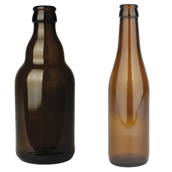 Botellas de vidrio para cerveza Zamnesia