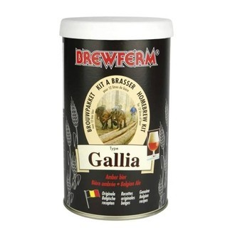 Kit de cerveza Brewferm GALLIA Belgian Ale (12l)