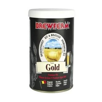Kit de cerveza Brewferm Gold (12l)