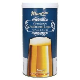 Kit de cerveza Continental Lager de Muntons (1,8kg)
