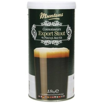 Kit de cerveza Muntons Export Stout (1,8kg)