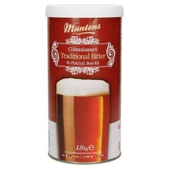 Kit de cerveza Muntons Traditional Bitter (1.8kg)