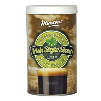 Kit de cerveza Irish Stout de Muntons (1,5 kg)