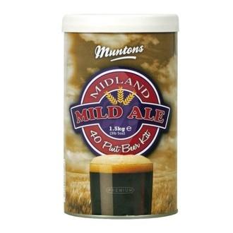 Kit de cerveza Midland Mild de Muntons (1,5kg)