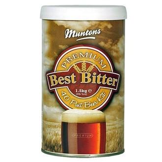 Kit de cerveza Premium Bitter de Muntons (1,5kg)
