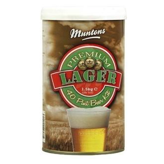 Kit de cerveza Muntons Premium Lager (1,5kg)