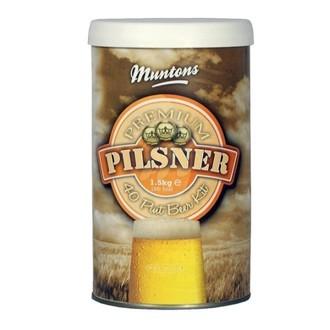 Kit de cerveza Muntons Premium Pils (1,5 kg)