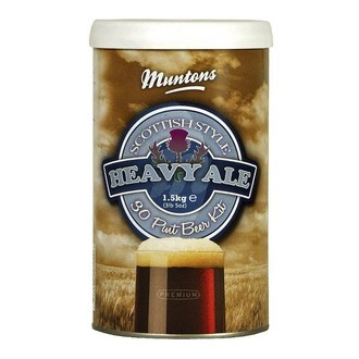 Kit de cerveza Muntons Scottish Heavy Ale (1,5 kg)