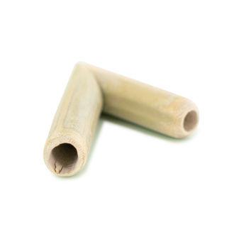 Pipa de bambú Kuripe para rapé