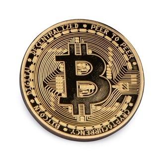 Moneda Bitcoin De Coleccionista
