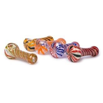 Pipa de cristal de color, tamaño pequeño