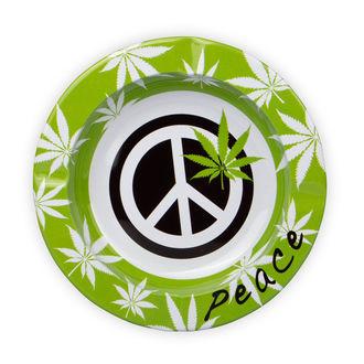 Cenicero de metal Peace