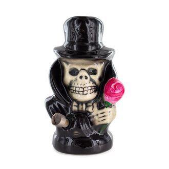 Bong de cerámica Black Hat Skull