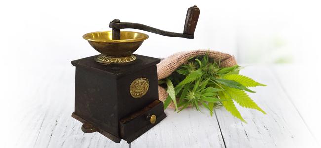 Picar Marihuana: Molinillo De Café