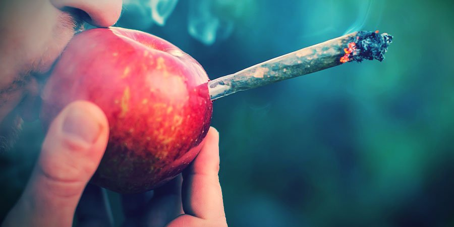 Fumar Marihuana Pipas De Manzana