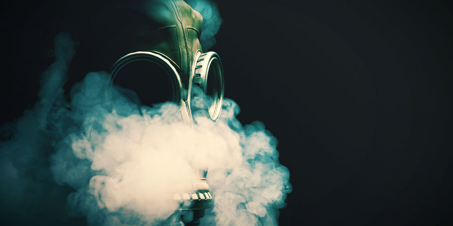Fumar Marihuana Máscara De Gas