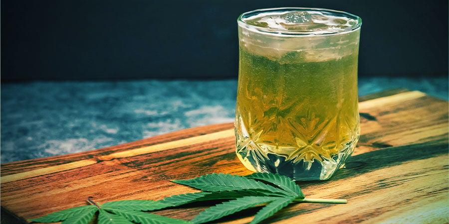 Bebidas infusionadas con marihuana