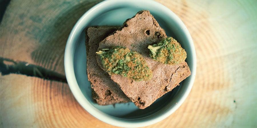 Comestibles con marihuana