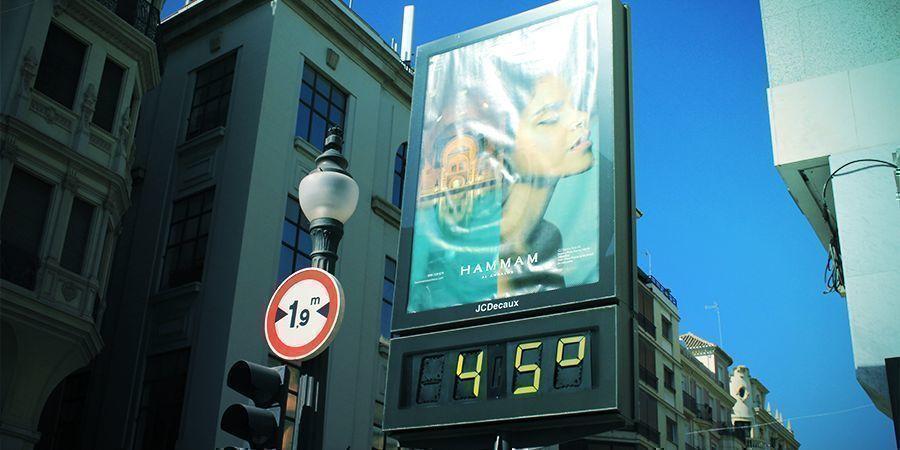 Temperatura Cannabis España