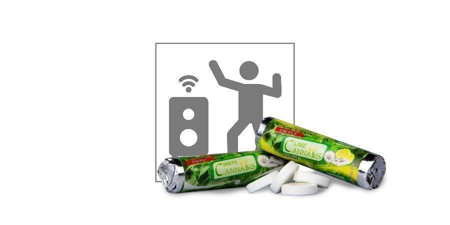 Caramelos de Cannabis con Glucosa