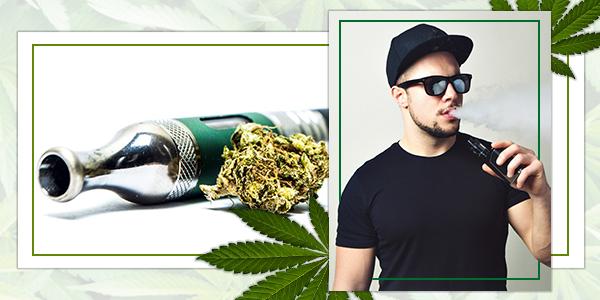Vaporízalas Las Hojas De Marihuana