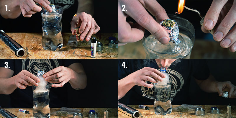 Cómo Usar Un Bong De Gravedad De Cubo