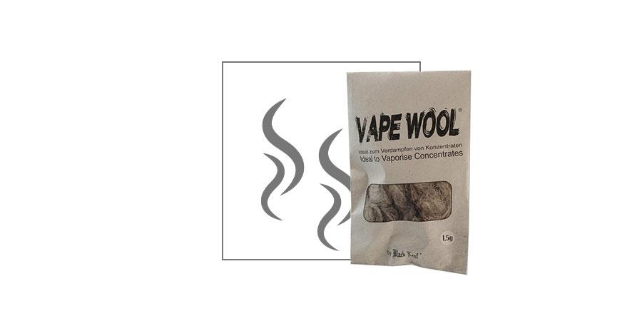 Fibra De Cáñamo Desgomado Vape Wool