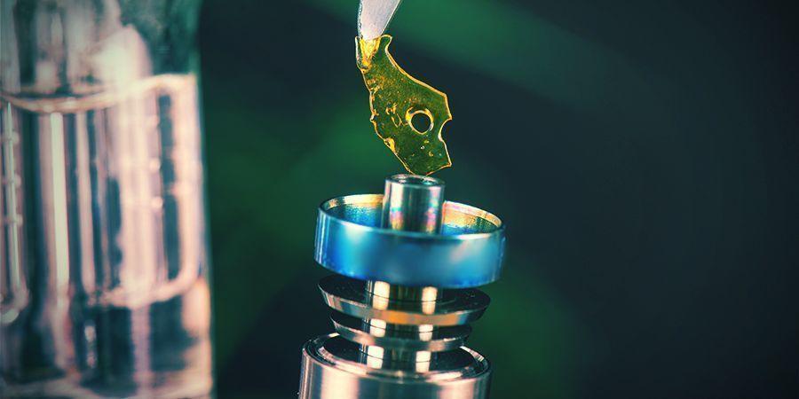 Dabbing Con Concentrados De Cannabis Medicinal