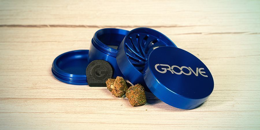 Grinder De Metal Groove Large De Aerospaced