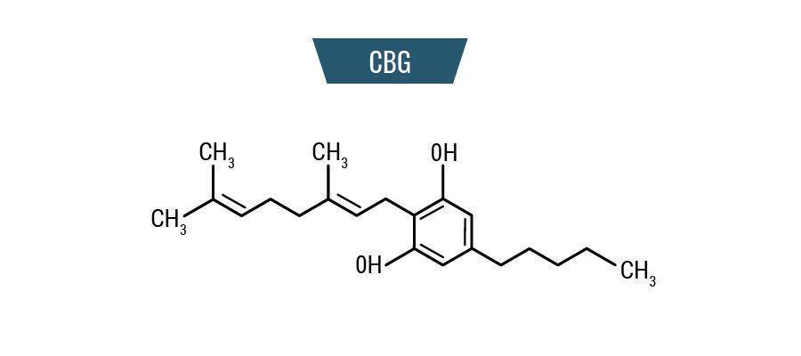 Molécula CBG