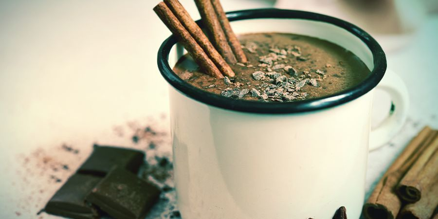 Receta de chocolate caliente con cannabis