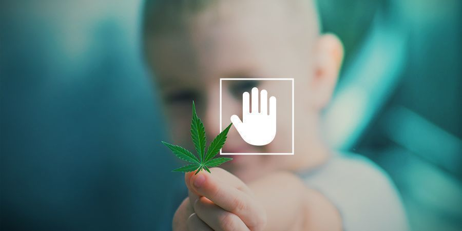 para ti debe ser prioritario no consumir cannabis delante de tus hijos