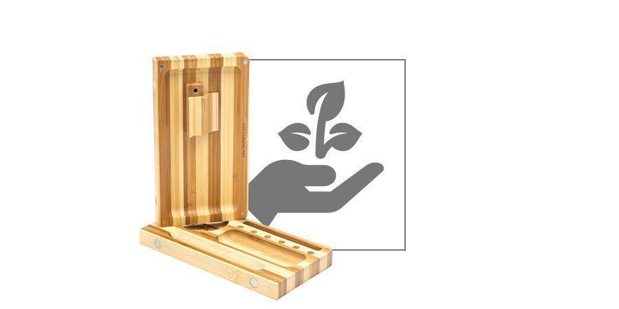 Bandeja De Liar De Bambú RAW