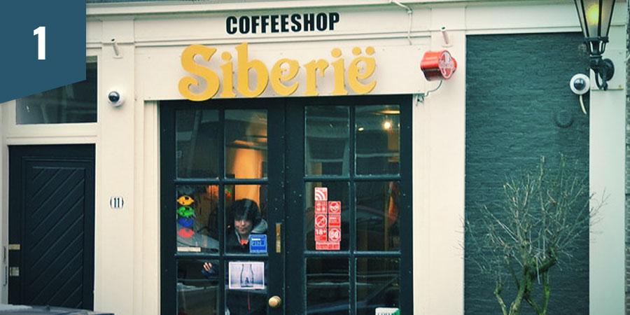 Siberië Coffeeshop Amsterdam